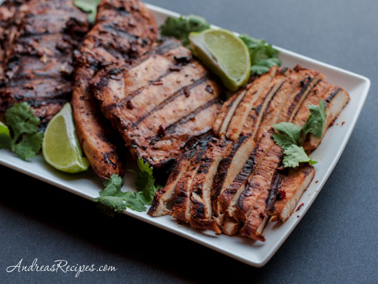 Grilled Adobo Chicken Recipe (Pollo Adobado) - Andrea Meyers
