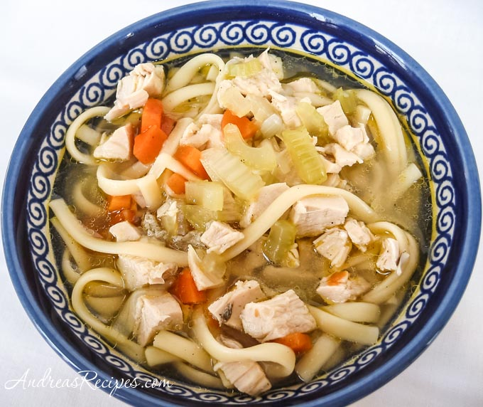 Recipes chicken noodle soup