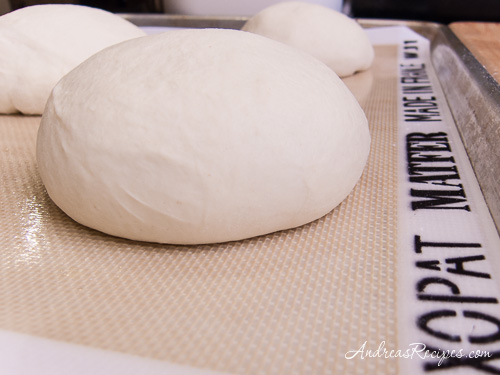 Andrea's Recipes - Peter Reinhart's Napoletana Pizza Dough