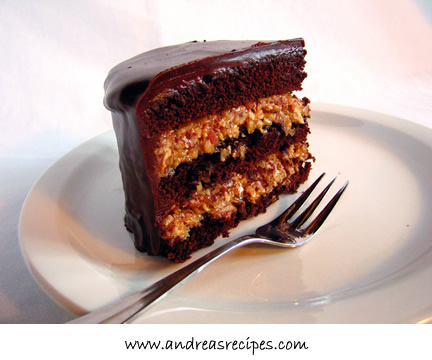 A tasty slice of chocolate cake :)