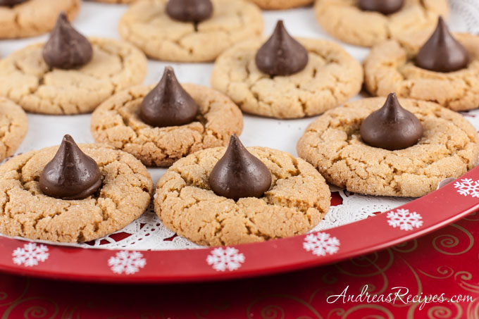 kiss cookies low fat peanut butter cookies peanut butter cookies ...