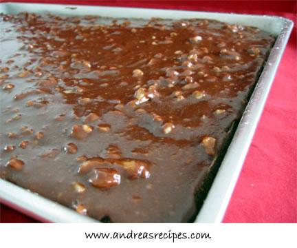 Recipes for chocolate sheet cake