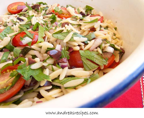 Greek Orzo Salad Recipe | Taste of Home Recipes