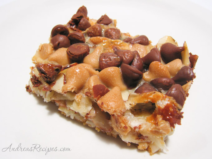 Seven-Layer Cookies (aka Magic Bars, aka Junk Bars)